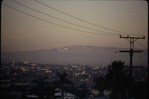 Smog over LA /LARGE