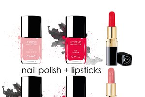 Nail polish&lipsticks