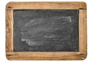 Vintage washed chalkboard