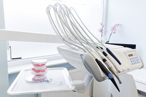 Professional dental equipment.