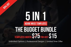 Budget Muse Bundle - 5 In 1