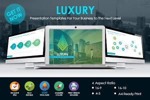 LUXURY - Presentation Template