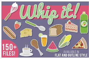 Whip It! 150 Yummy Illustrations!