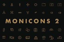 Monicons 2 - 100 icons