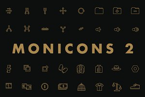 Monicons 2 - 100 icons