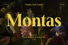 Montas - 7 Fonts by  in Fonts