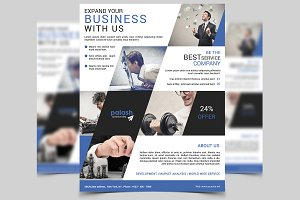 Corporate Flyer Template-V210