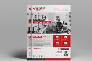 Creative Agency Flyer