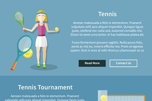 Set Tennis and Tournament