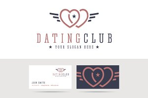 Dating club logo
