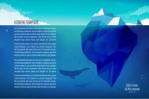 3 x Iceberg template