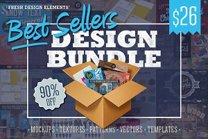 90% Off Best Sellers Design Bundle