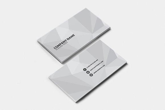 3 Creative Clean Business Card Pt.2 - Business Cards