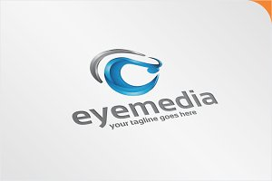 Eye Crocodile - Logo