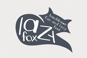 LazyFox Hand Drawn Font