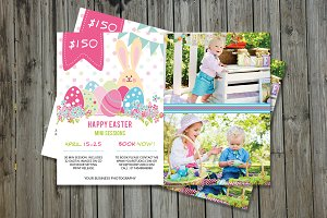 Easter Mini Session Template-V211