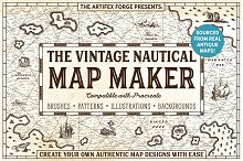 The Vintage Nautical Map Maker by  in Add-Ons