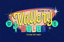 Vallery Hills Family ( Intro SALE!) by  in Fonts