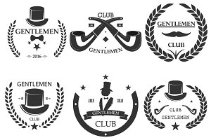 Gentlemen club Set logo