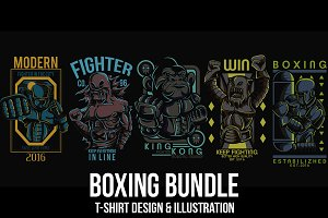 Boxing Bundle Illustration