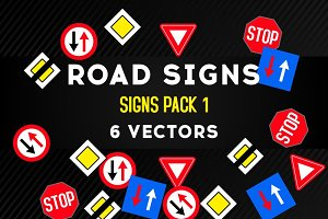 Road Signs PACK 1