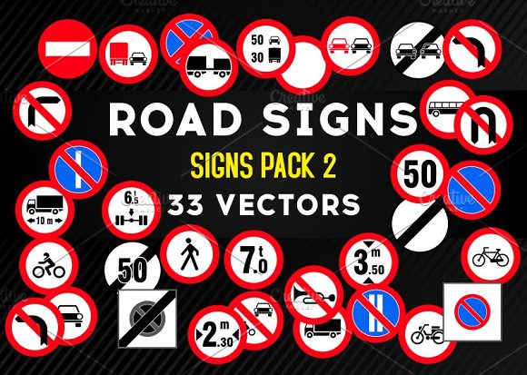 Road Signs PACK 2