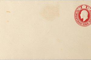 Vintage English envelope