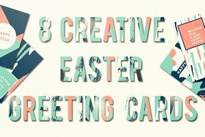 8 Easter Greeting Cards