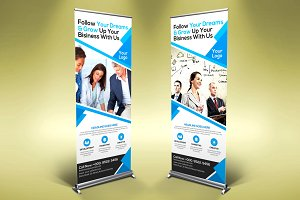 Corporate/Business Roll-up Banner