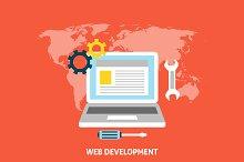 Web Development Concept