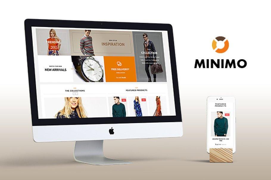 Minimo - Fashion Wordpress Theme