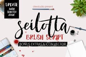 Seilotta Brush Script