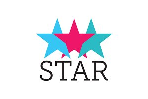 Three & Five Star Logos