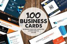 100 Latest Business Card Bundle