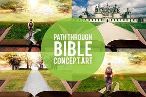 Path Through Bible Slide