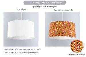 Drum Lampshade Mock Up