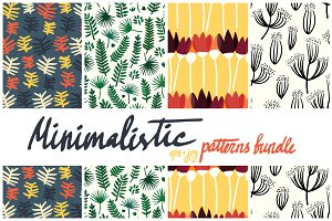 40 minimalistic patterns bundle