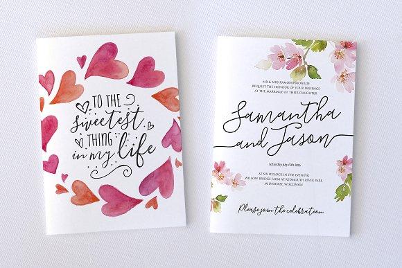 The blooming elegant font trio script fonts creative market m4hsunfo